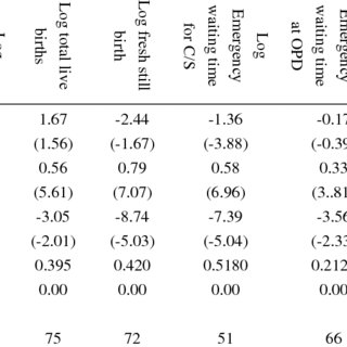 (PDF) Technical Efficiency in Public Hospitals in Kenya: A