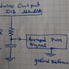 Typical Wiring Diagram Tabernacle Wilderness Tribes This Is The We Ve Used In Lab An Oscilloscope To Measure Te Averaged Pwm Signal Between Resistor And Capacitor