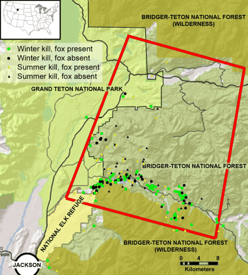 small resolution of the study area in the southern greater yellowstone ecosystem teton county wyoming the