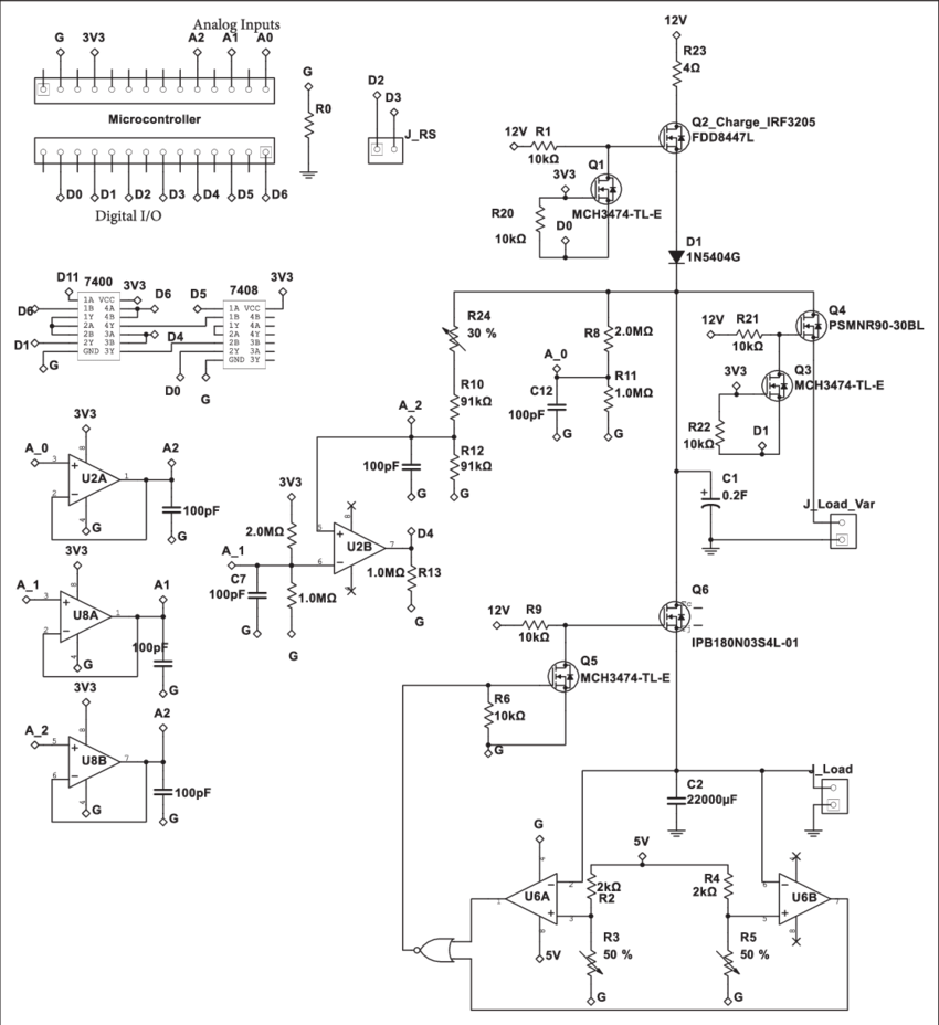 hight resolution of power consumption meter circuit design