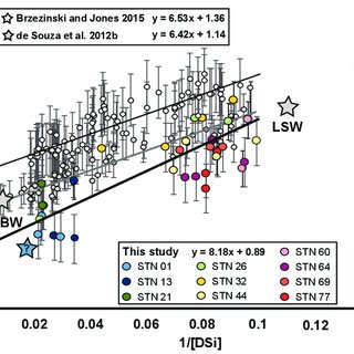 (PDF) The silicon stable isotope distribution along the