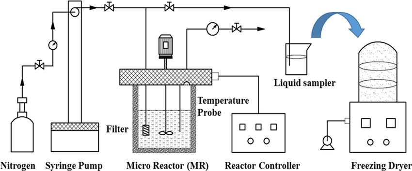 Schematic diagram of the SBCW apparatus coupled with a