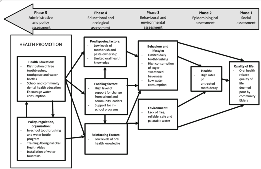 Application of Precede-Proceed model for health promotion