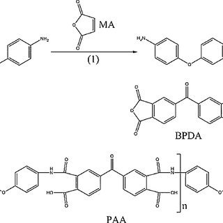 Chemical reaction route to prepare polymerise PAA as the