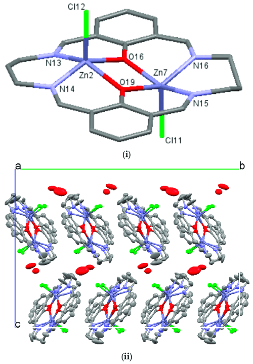 small resolution of  i crystal structures of nzn 2 l showing the atom labeling schemes hydrogen