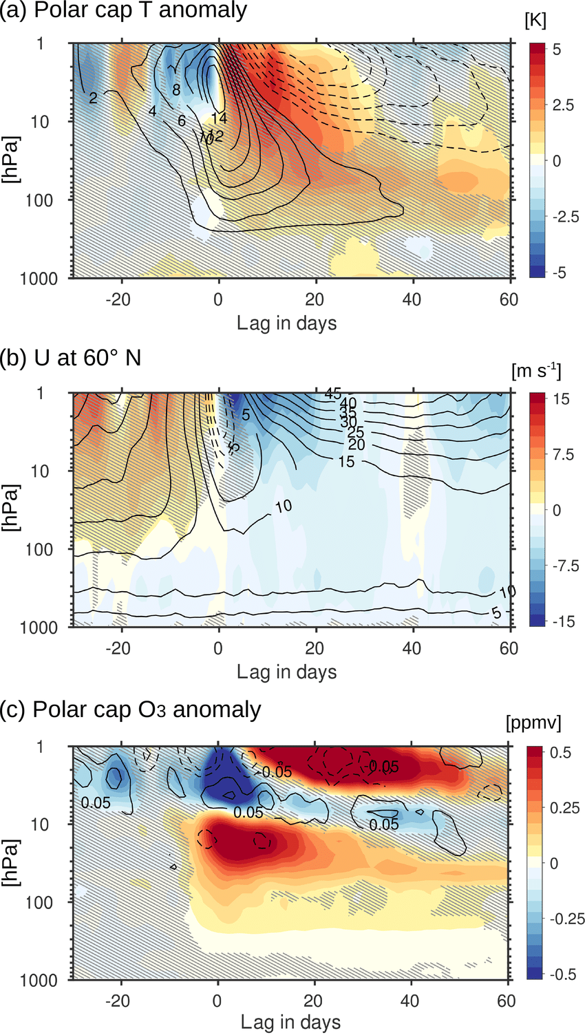 medium resolution of ssw composites for a the polar cap 60 to 90 n