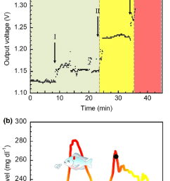 monitoring the glucose concentration by a light emitting diode led color switching [ 714 x 1372 Pixel ]
