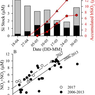 (PDF) Silicic acid limitation drives bloom termination and