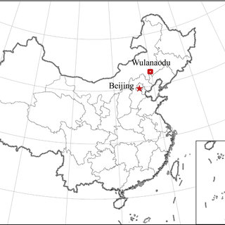 The location of study area (cited from Zhang et al