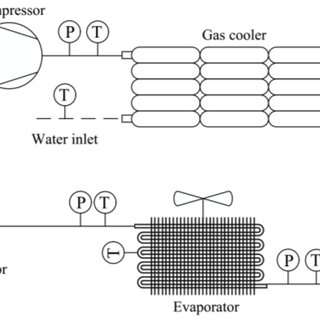 Schematic Diagram of Column with Direct Vapour