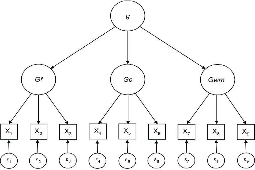 Example latent variable model: Higher-order model of