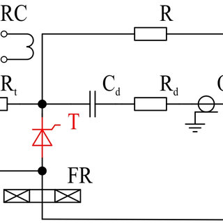 (a) Charging state of three capacitors in parallel and its