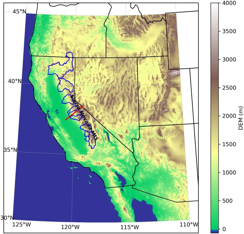 They have a lot going on with different colors, lines, and labels … read full post. Map Of The Study Area In The Western United States The Colored Map Download Scientific Diagram