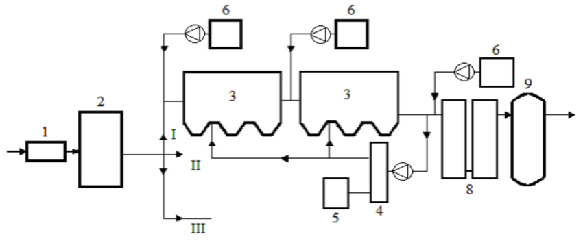 Process Flow Diagram for the Treatment of Ballast Water