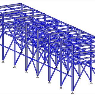 steel pipe rack quantification in oil