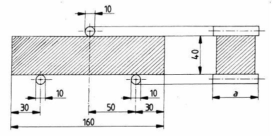 Flexural test on prism specimen Figure 2. Compression test