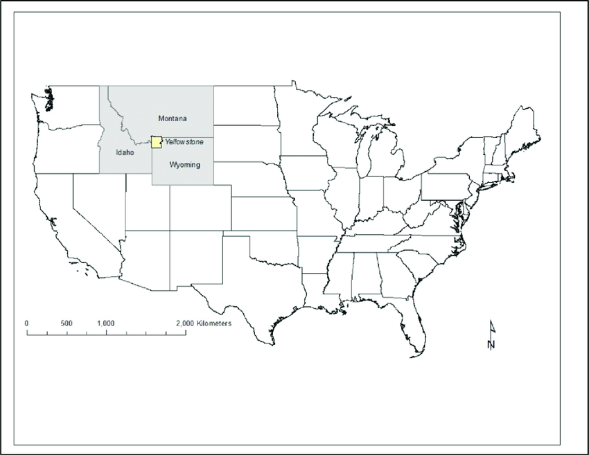 Maybe you're a homeschool parent or you're just looking for a way to supple. Location Map Of Yellowstone National Park Within The Western Usa Download Scientific Diagram