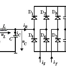Basic static converter circuit for an asynchronous motor