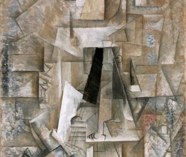 Pablo Picasso Man With A Guitar 1912 13 Oil On Canvas