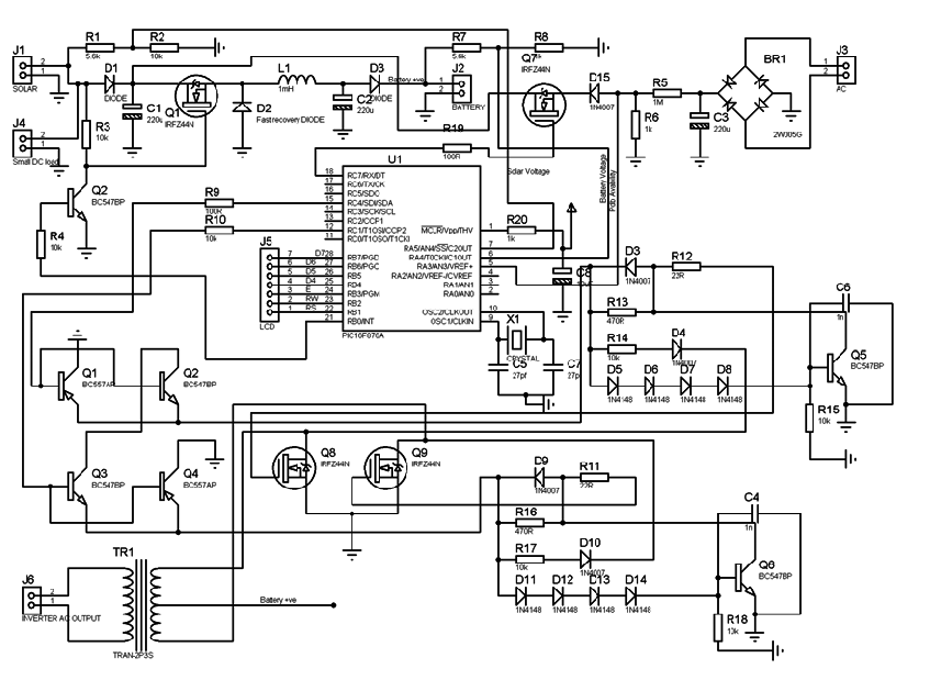 circuit diagram inverter gate