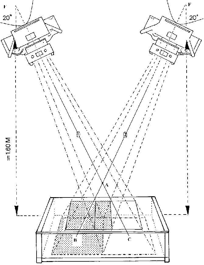 Schematic drawing of the RSA technique. Two standard