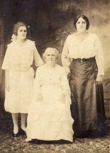 Helen and Jesuina with Jesuina's mother