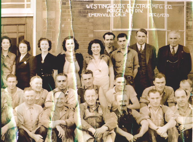 Westinghouse Electric Oakland, CA Employees 1929