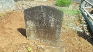 Braga tombstone Kilauea Catholic Cemetery