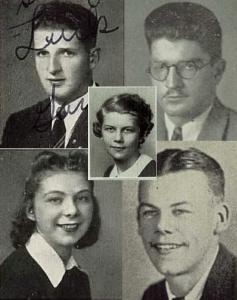 Koch and Garibaldi Yearbook Photos