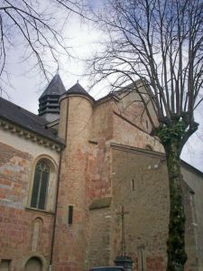 Cathedral in Lescar, France