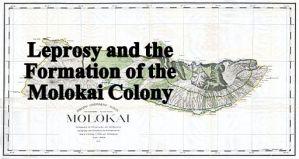 Land Office Map of Molokai, 1897, Public Domain