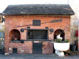Old bakery in Ogeu les bains, France