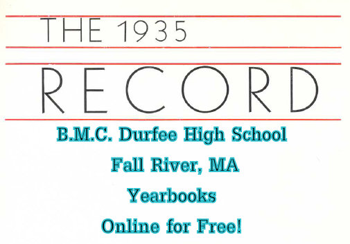 BMC Durfee High School, Fall River Yearbooks Online for Free