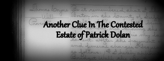 Thomas Coyne's Will reveals an important detail about his connection to Patrick Dolan