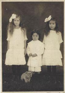 Who are these three Portuguese Hawaiian children?