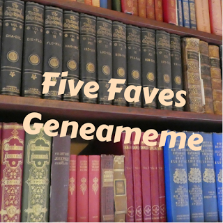 Five favorite genealogy books