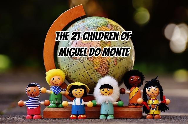 Children around the world descendants monte