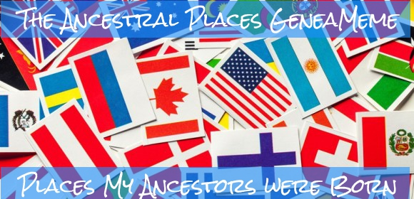 flags of the world represent ancestral places