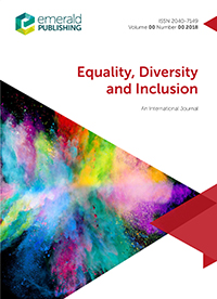 Equality, Diversity and Inclusion: An International Journal