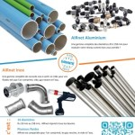 Tuyauterie aluminium et inox AIRnet