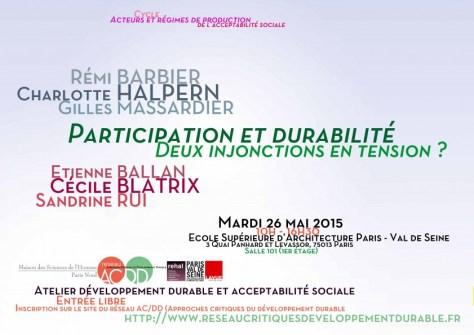 Affiche atelier ACDD Participation et durabilite injonctions en tension (fusionne)