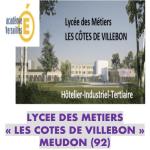 Présentation du lycée Les côtes de Villebon de Meudon
