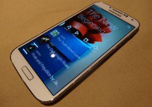 Lancement mondial du Samsung Galaxy S4