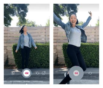 Instagram Rewind Mode