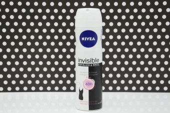 Resenha: Desodorante Aerosol Invisible for Black & White Clear Nivea