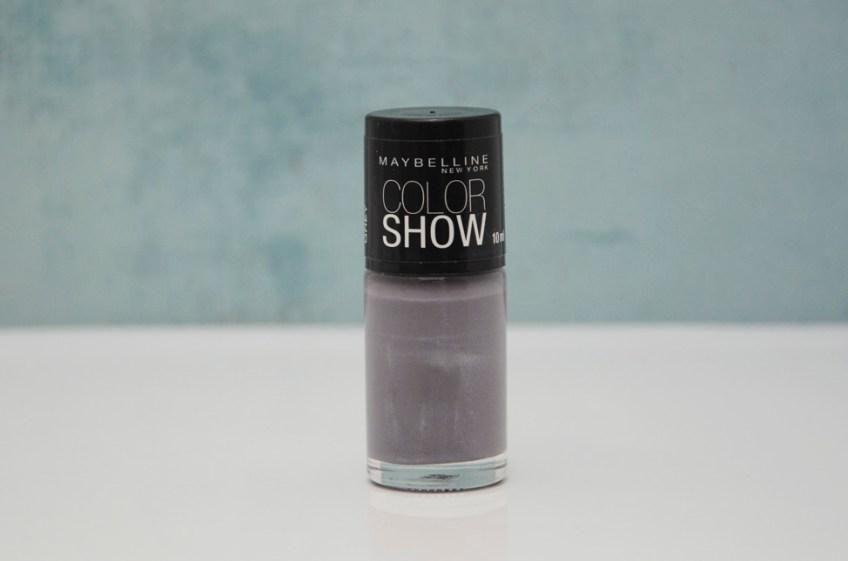 Resenha: Esmalte Color Show Dazzling Grey da Maybelline