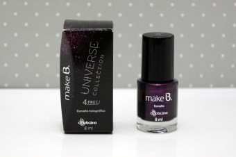Resenha: Esmalte Mistery Purple Make B Universe Collection – O Boticário