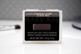 Resenha: Sombra Mineral Mary Kay Cinnabar