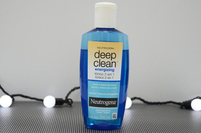 Resenha: Neutrogena Deep Clean Energizing Tônico 2 em 1
