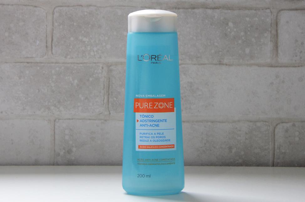 Tônico Adstringente Anti-Acne Pure Zone L'oréal Paris